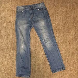 Slim Straight Jeans (Calvin Klein Jeans)